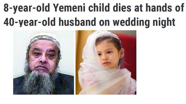 Is Humanity Completely Dead On Our Planet, This 8-Year-Old Bride ...