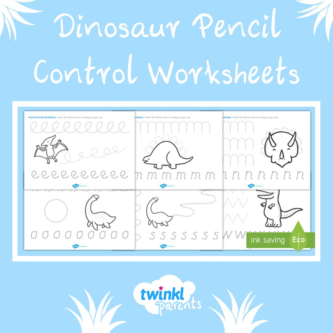 Our Pencil Control Sheets Are Specially Designed To Help