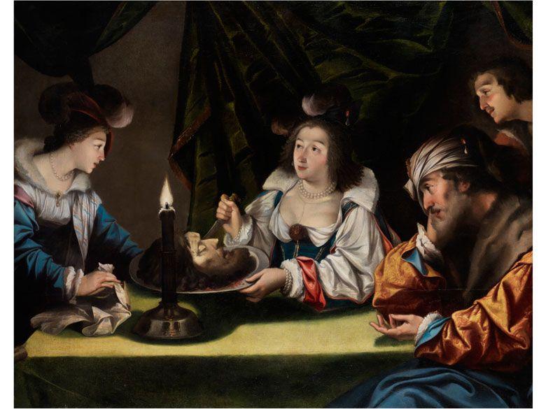 Italienischer Maler Des 17 Jahrhunderts Malen Jahrhundert Ol
