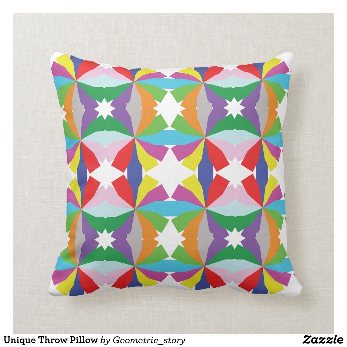Unique Throw Pillow Zazzle Com Throw Pillows Pillows Diy