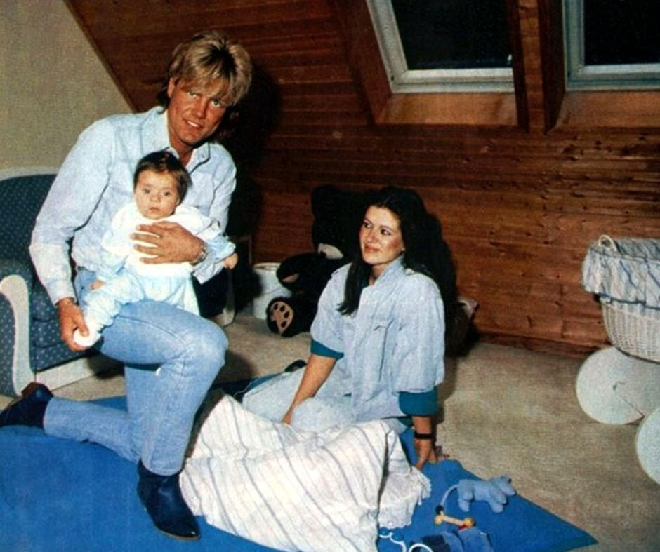 Dieter Bohlen With His Wife Erika And Son Mark Modern Talking Wife Couple Photos