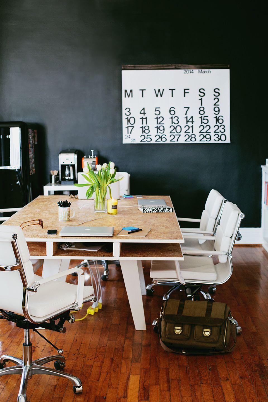 office desk blueprints. DIY Wood Dining Table/Office Desk At A Beautiful Mess Office Blueprints E