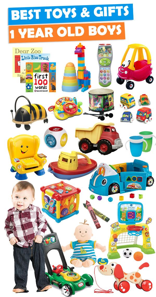 See Over 200 Gift Ideas For A 1 Year Old Boy