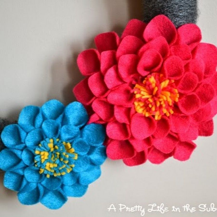 How To Make Handmade Flowers From Paper And Fabric Cool Mel Stampz
