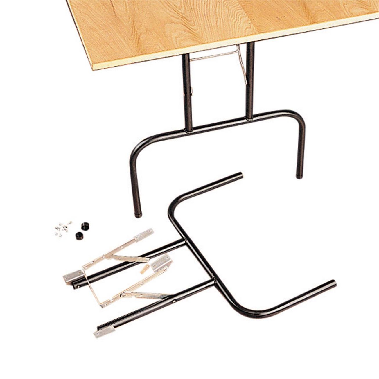 Waddell 29 In H Folding Metal Table Leg Table Legs Metal Table Legs Folding Table Legs