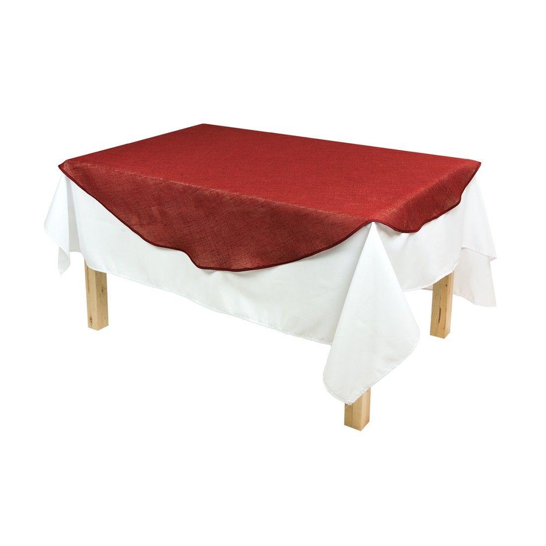 Burlap Round Table Overlays 60 In Round Burlap Table Overlay Red Hessian Overlays And Tables
