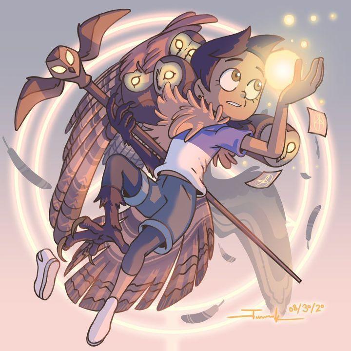 Traducción de comics de The owl house