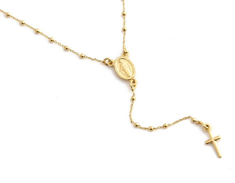 ac5885185ea8 Roma Rosary Necklace Hanging Necklaces