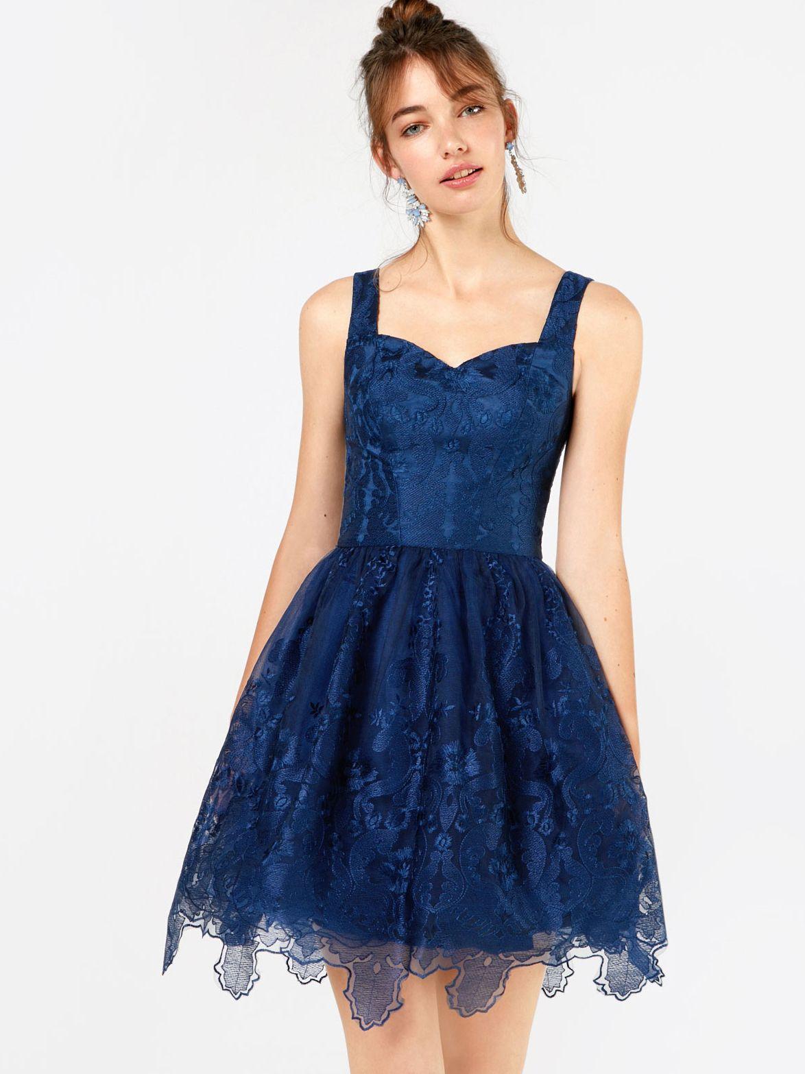 Chi Chi London Cocktailkleid \'Jessie\' in blau | ABOUT YOU | Kostüme ...