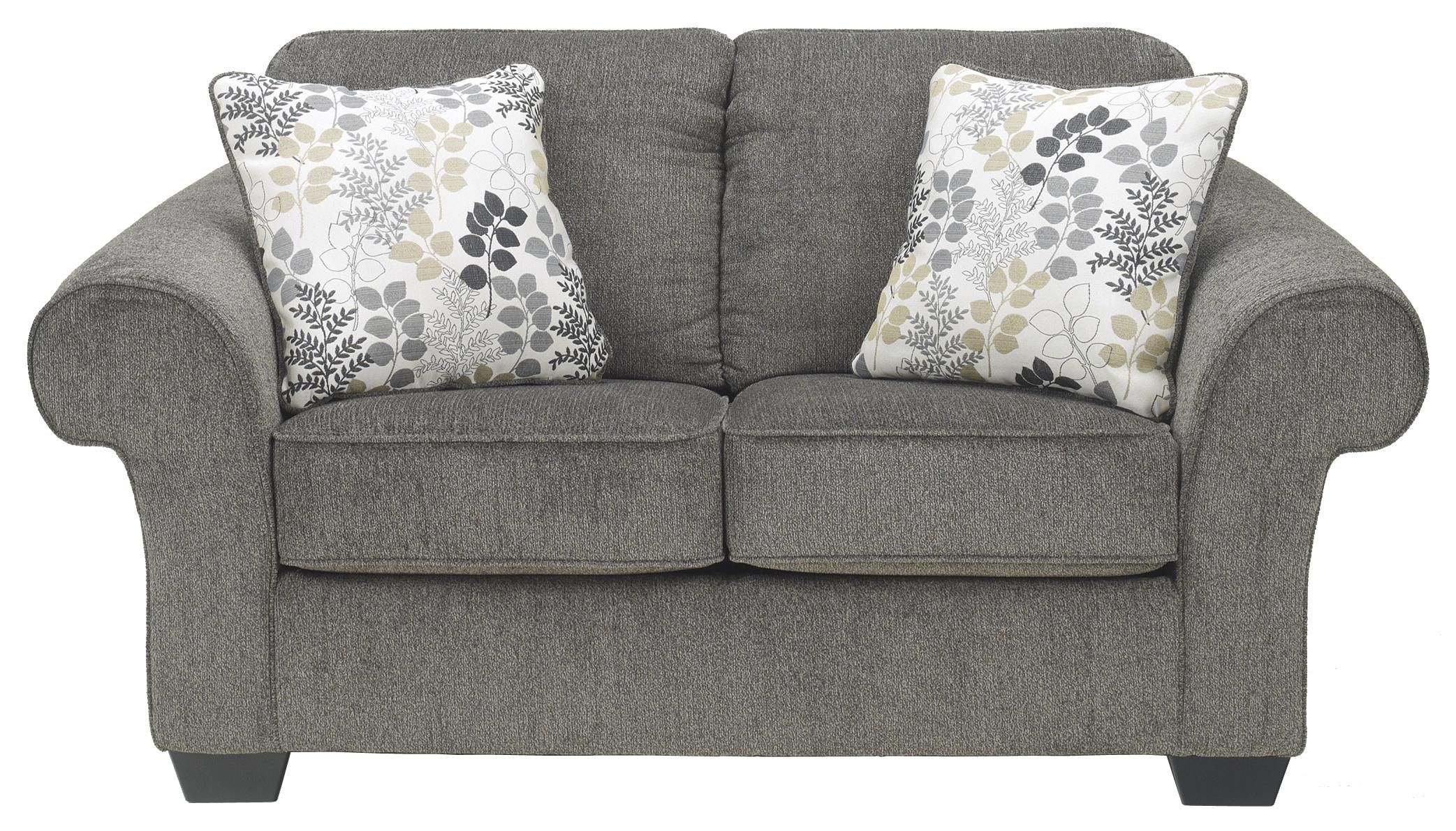 Makonnen Charcoal Loveseat By Signature Design By Ashley