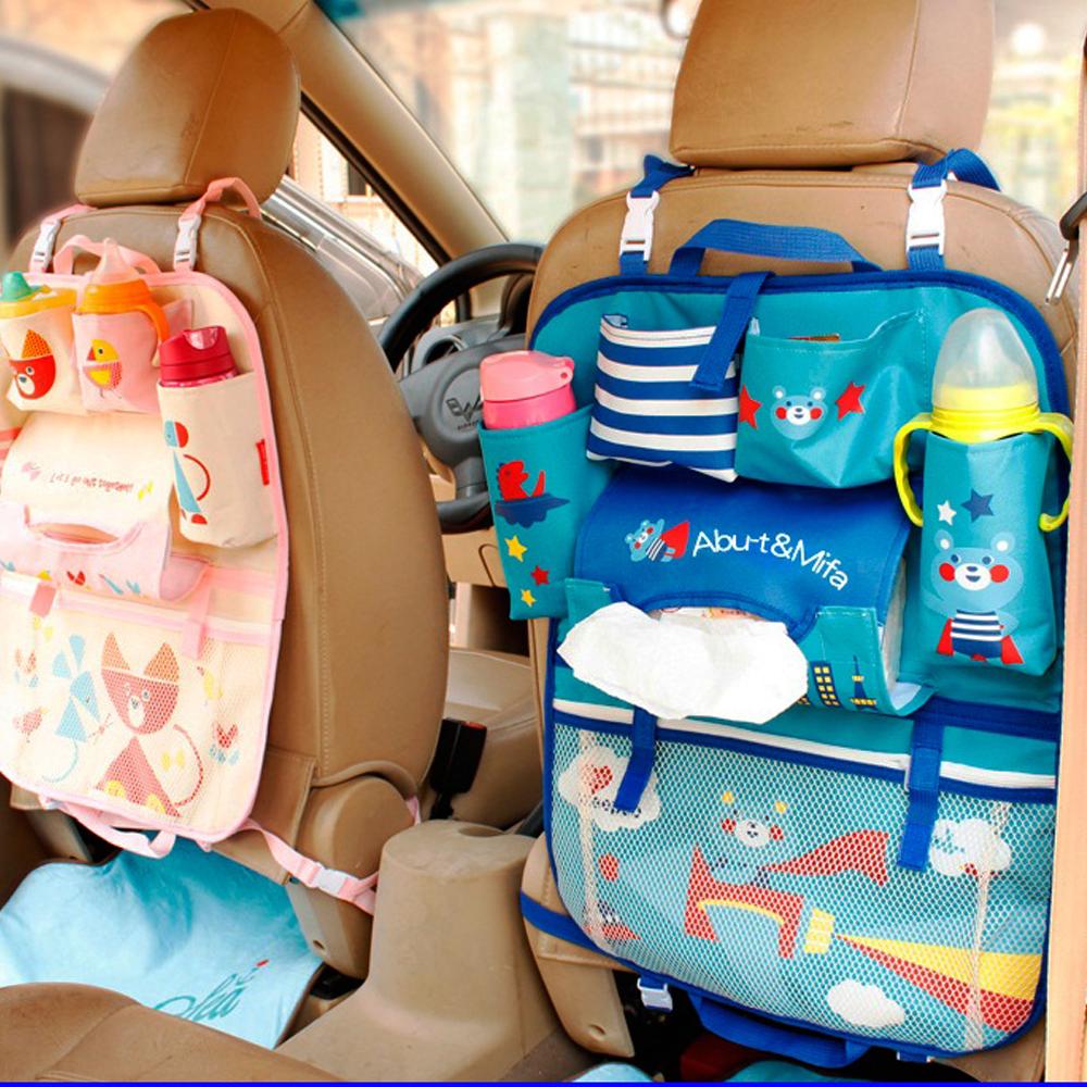 New Cartoon Car Seat Back Organizer (Dengan gambar) Car