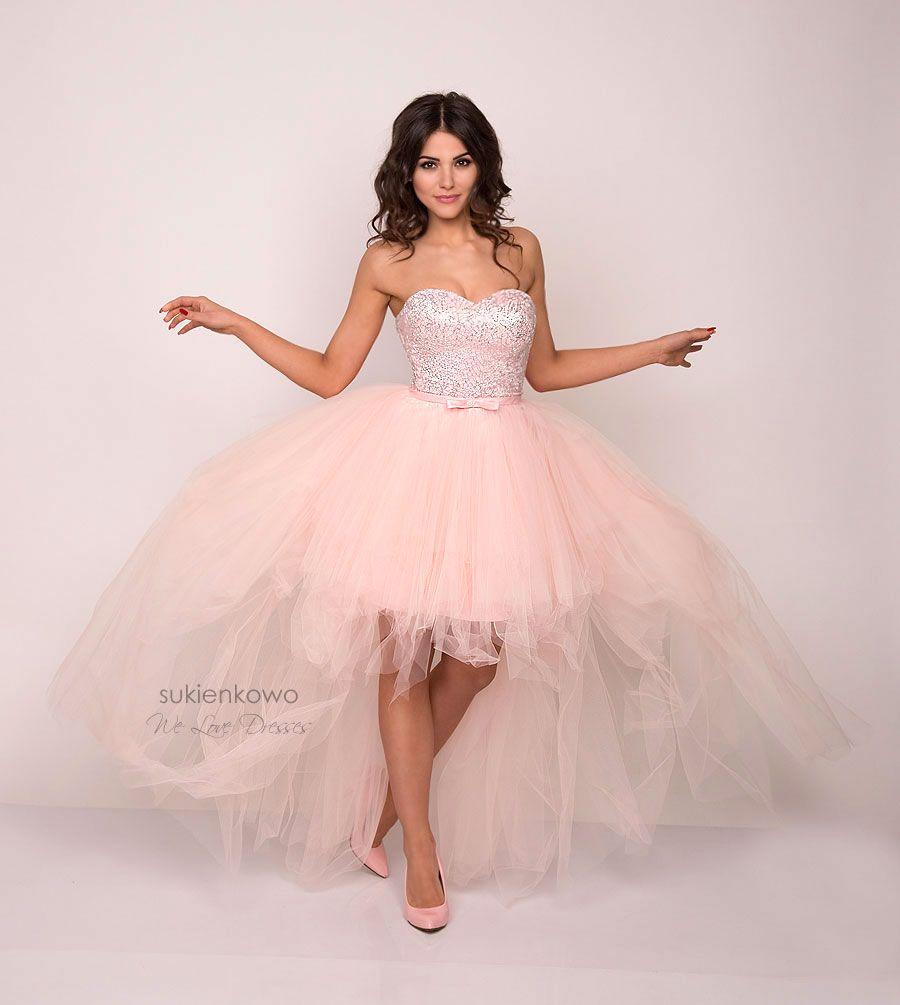50960877ef Sukienkowo.pl - ELECTRA - Luksusowa gorsetowa sukienka różowa ...