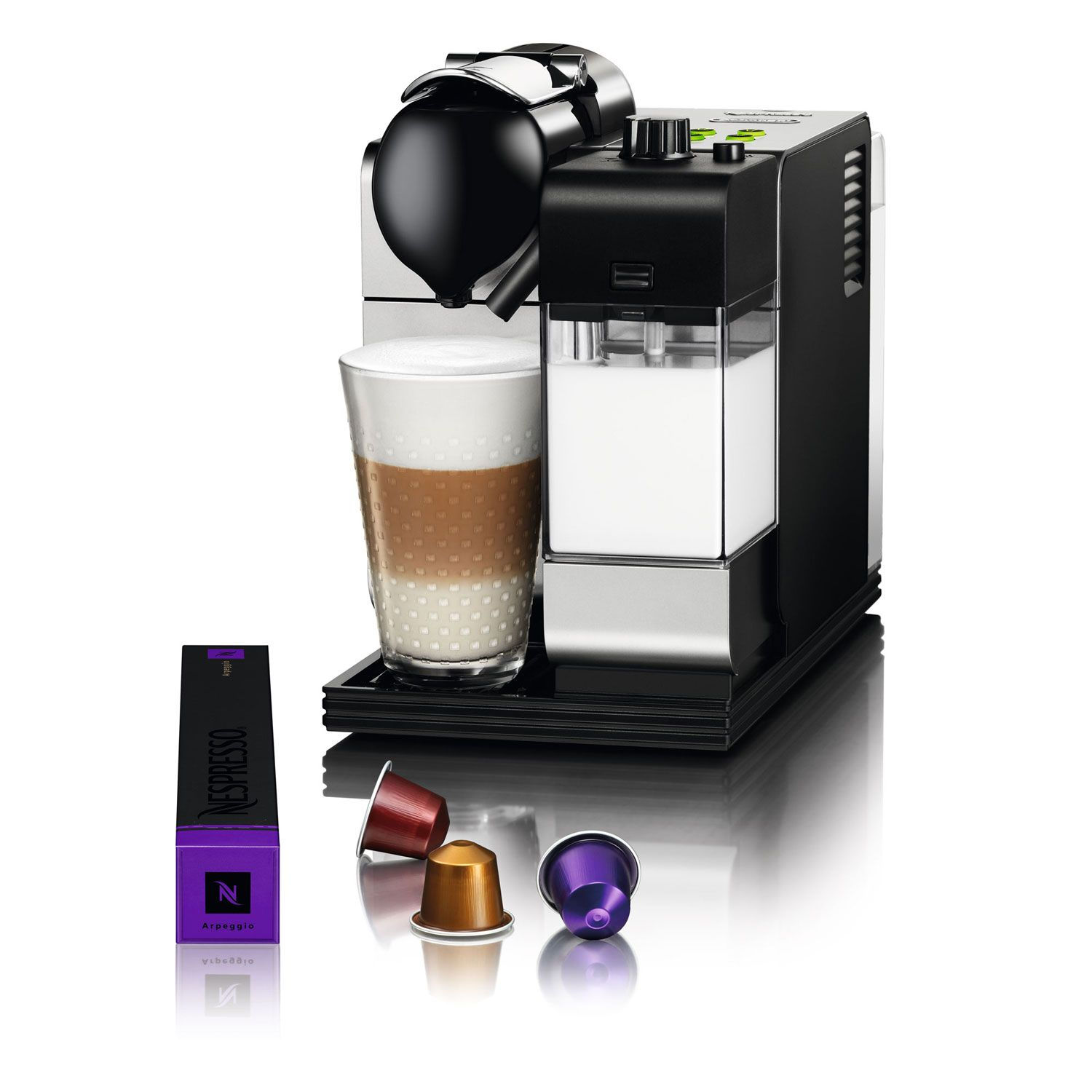 Nespresso DeLonghi Lattissima+ Plus EN520.S Coffee