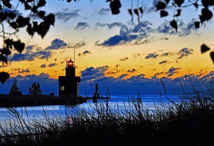 Holland,Michigan's Big Red Lighthouse.