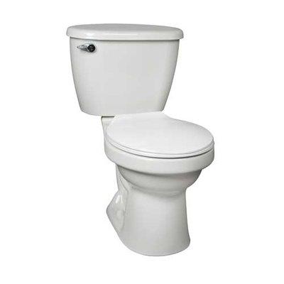 Mansfield Plumbing Products Cascade Het 1 28 Gpf Round Two Piece Toilet Tank Toilet Wall Hung Toilet Plumbing Fixtures