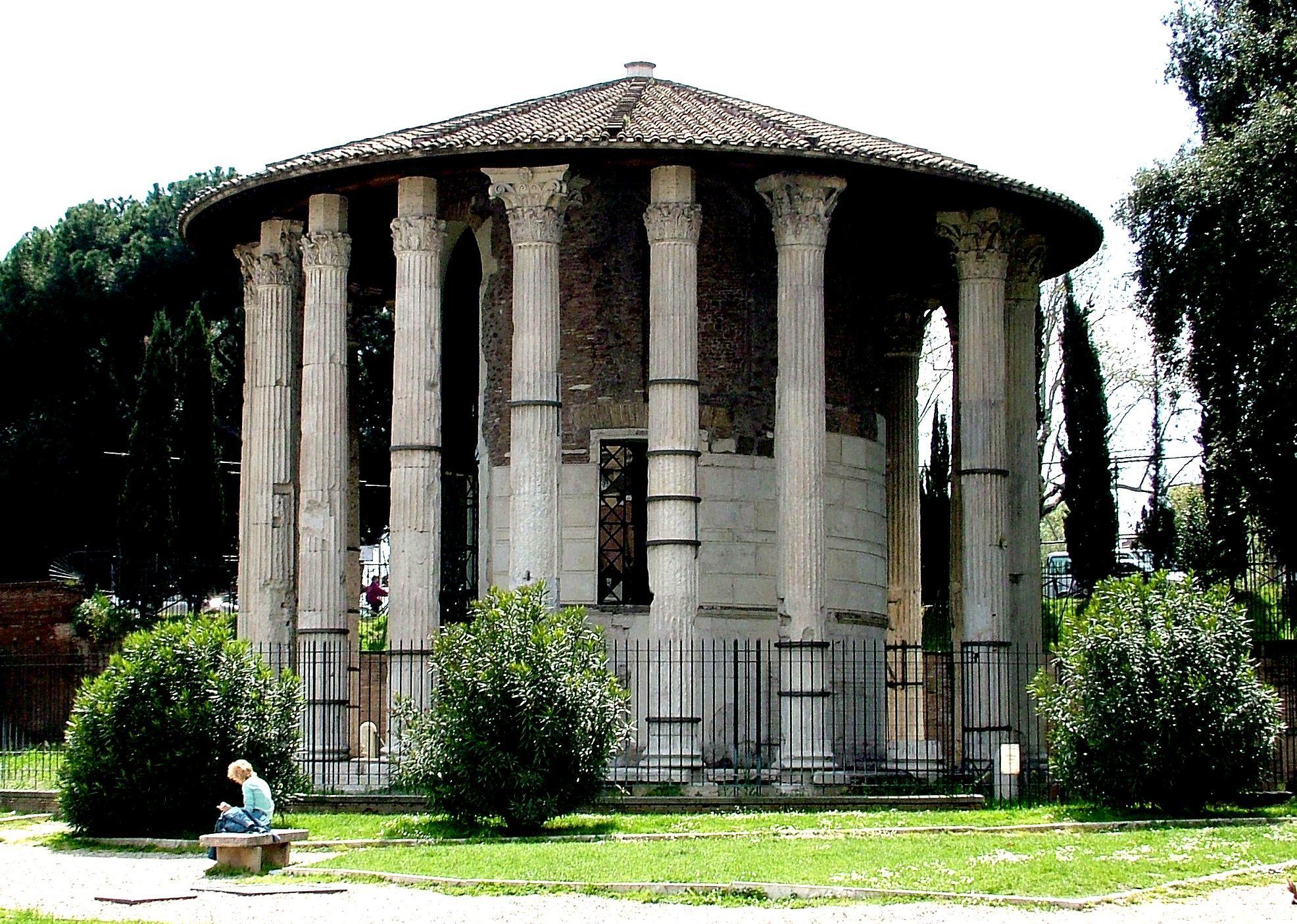 Resultado de imagen de roman round temple of vesta