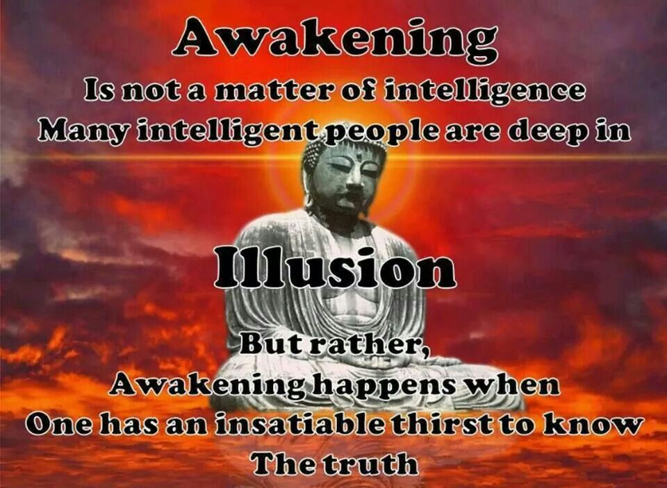 Many intelligent people are deep in the illusion.
