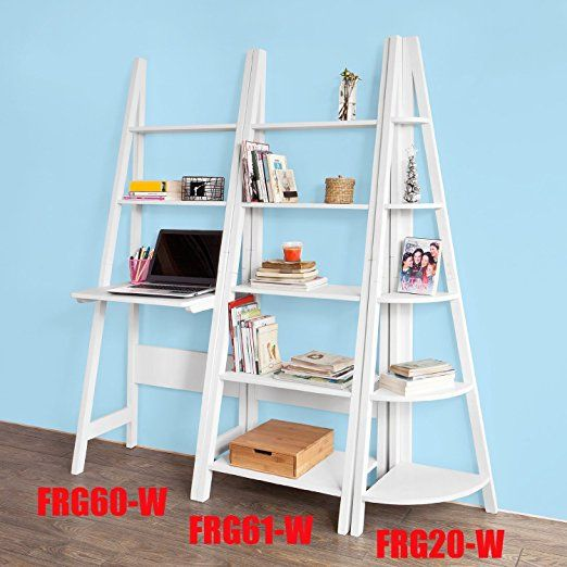 Sobuy frg61 w biblioth que tag re style chelle for Etagere echelle cuisine