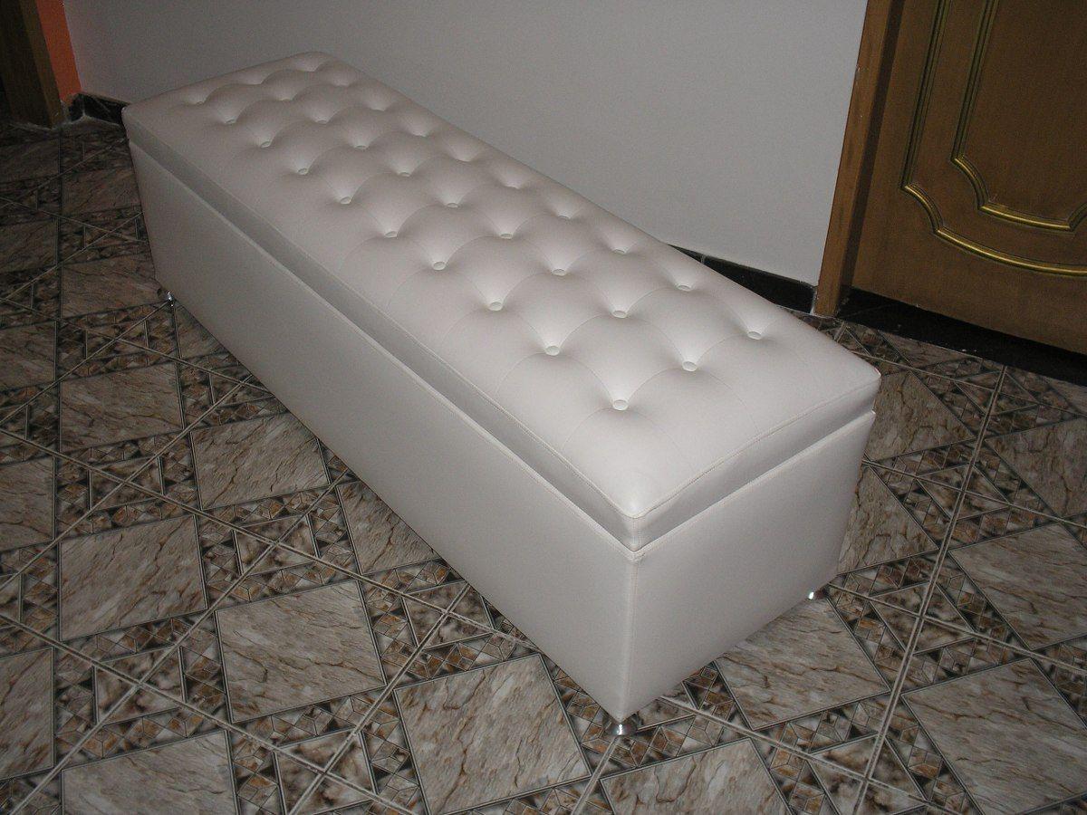 Baú Para Quarto ~ puff bau para os pes da cama queen com pistao mt 158+50+50 Legal Pinterest Bau, Quartos