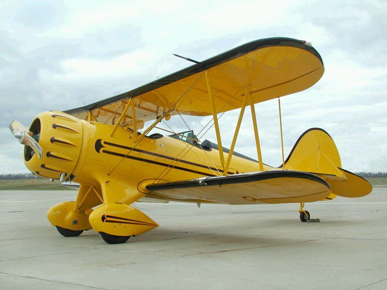 Biplane Vintage Aircraft Aircraft Biplane