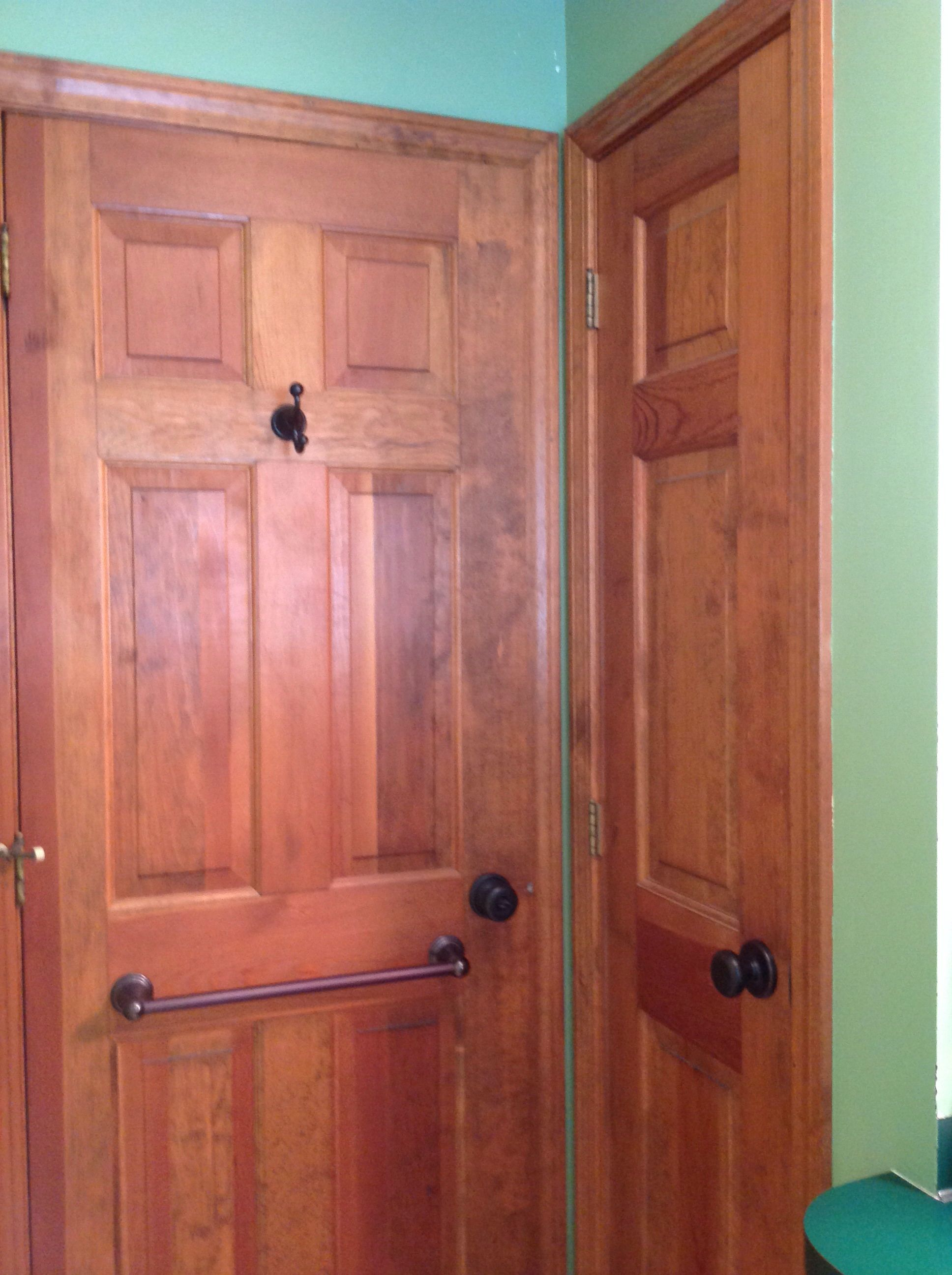 Current door/trim color Closet size... Outside casing to casing - 23.5 & Current door/trim color Closet size... Outside casing to casing ...