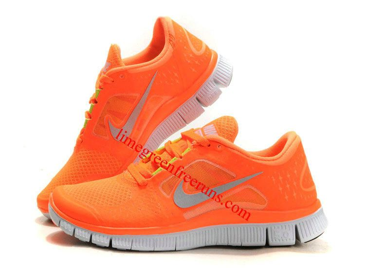 2012 Nike Free Run 3 Women Orange