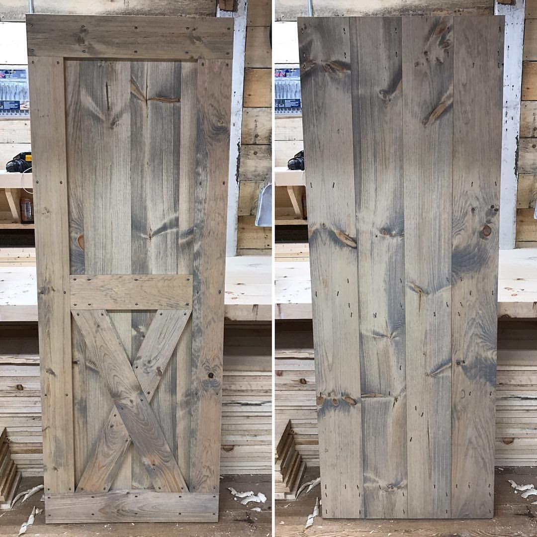 A Shutter Or Door In These Colors Will Help Your Building Stand Out Weathered Oak Stain Weathered Oak Barn Door