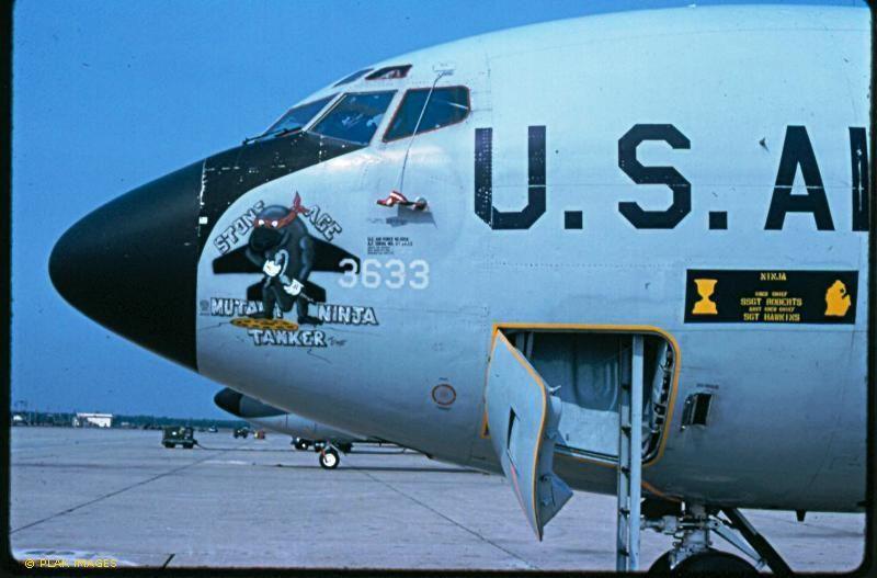 "KC-135 56-3633 ""Stone Age mutant Ninja Tanker"""