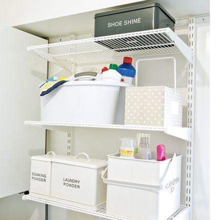 Howards Storage World Elfa Laundry Custom Shelving Unit Homewares Pinterest And Rooms