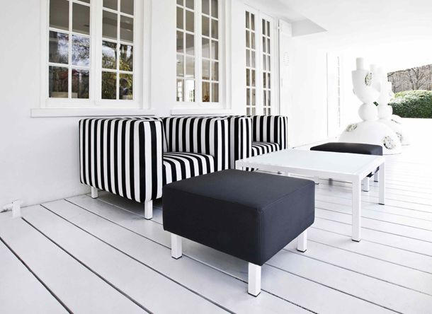 ≥ design chill serie loungestoel met hocker tuinmeubelen
