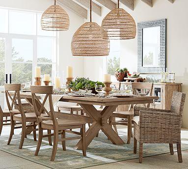 toscana extending dining table alfresco brown in 2019 d cor rh pinterest com