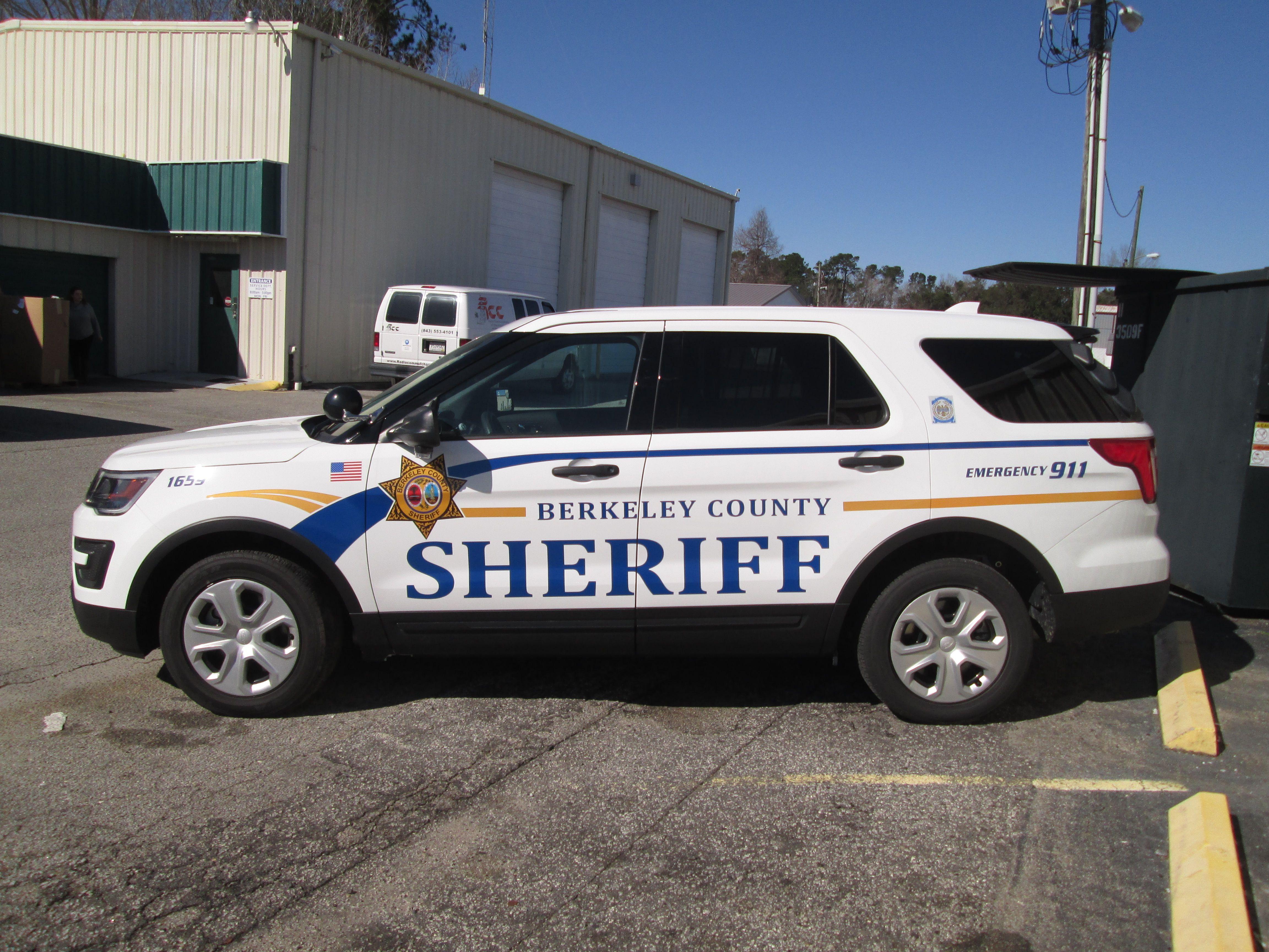 Berkeley County Sc Sheriff 1659 Ford Interceptor Utility