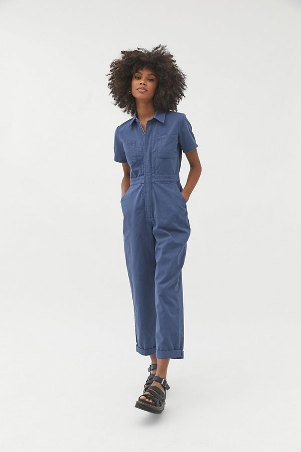 Urban Outfitters Uo Canvas Flight Jumpsuit in Green - Lyst