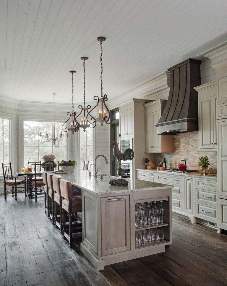 35+ Stunning Modern Farmhouse Kitchen Design Ideas To Renew Your Home