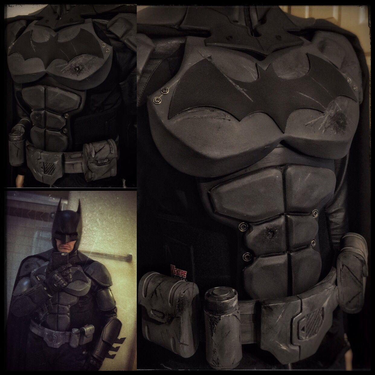 Batman Arkham Knight Batcave: Just Finished Making My Batman Arkham Origins Utility Belt
