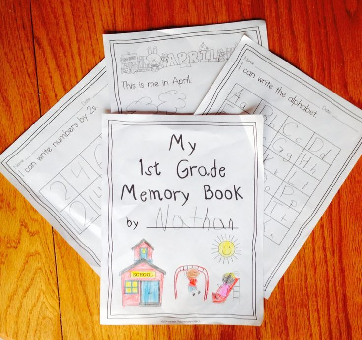 Create a memory book that highlights the learning and growth of your students