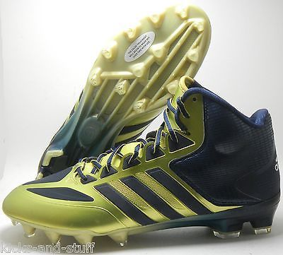 RARE NOTRE DAME FIGHTING IRISH GAME ISSUED ADIDAS FOOTBALL