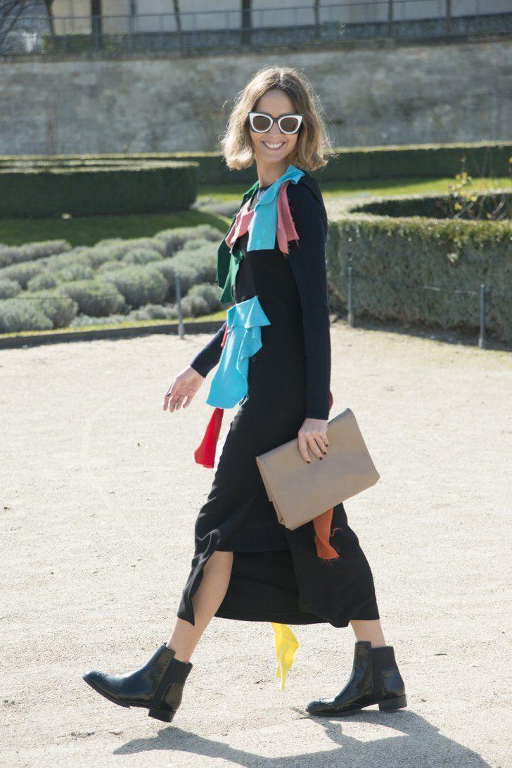 Pin for Later: Au revoir, Paris! Das sind die besten Street Style Looks der Fashion Week Street Style bei der Paris Fashion Week