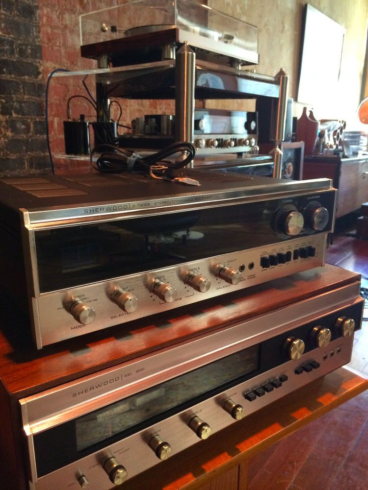 Sherwood S-7900A Stereo AM/FM Receiver/ Original Manuals and Service Bulletin! #Sherwood