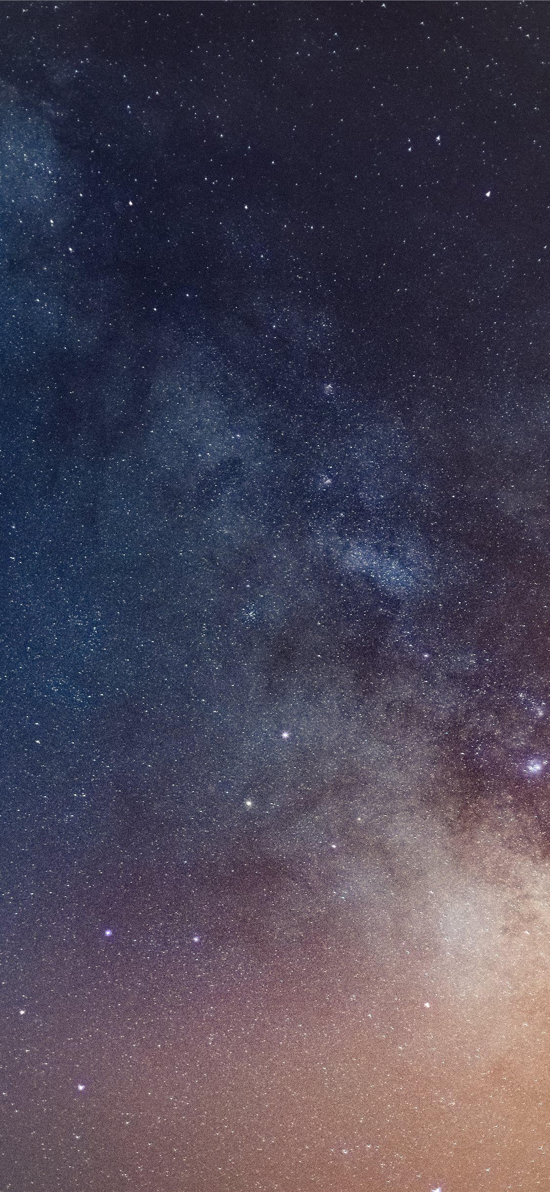 Blue And Orange Starry Night Sky Nature Space Outerspace Grey Galaxy Cerroazul Por Cool Wallpapers For Phones Starry Night Wallpaper Cute Girl Wallpaper