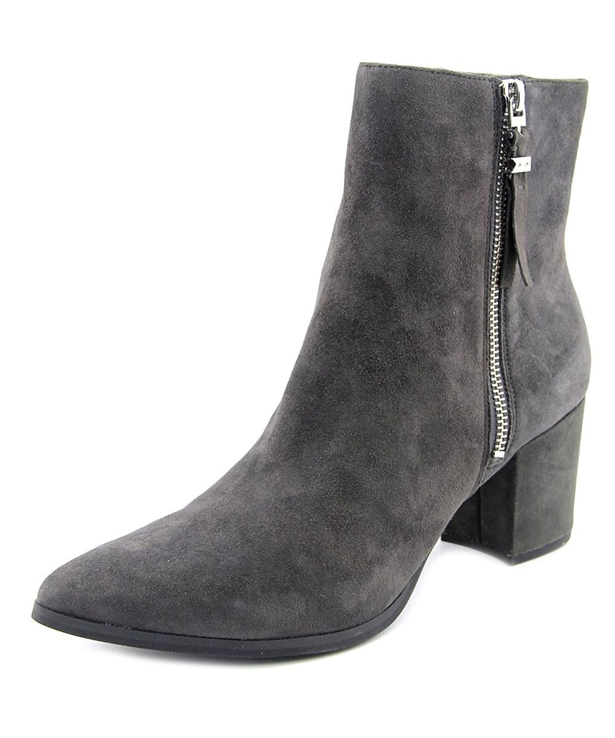 Michael Kors Grey Leather Boots bgT6tt1O