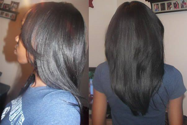 3 Inch Hairstyles: Sew In Weave Bob .