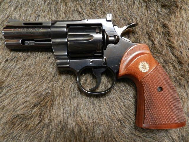 "Combat Python 1980 colt california combat python 357 mag 3""   i love colt handguns"