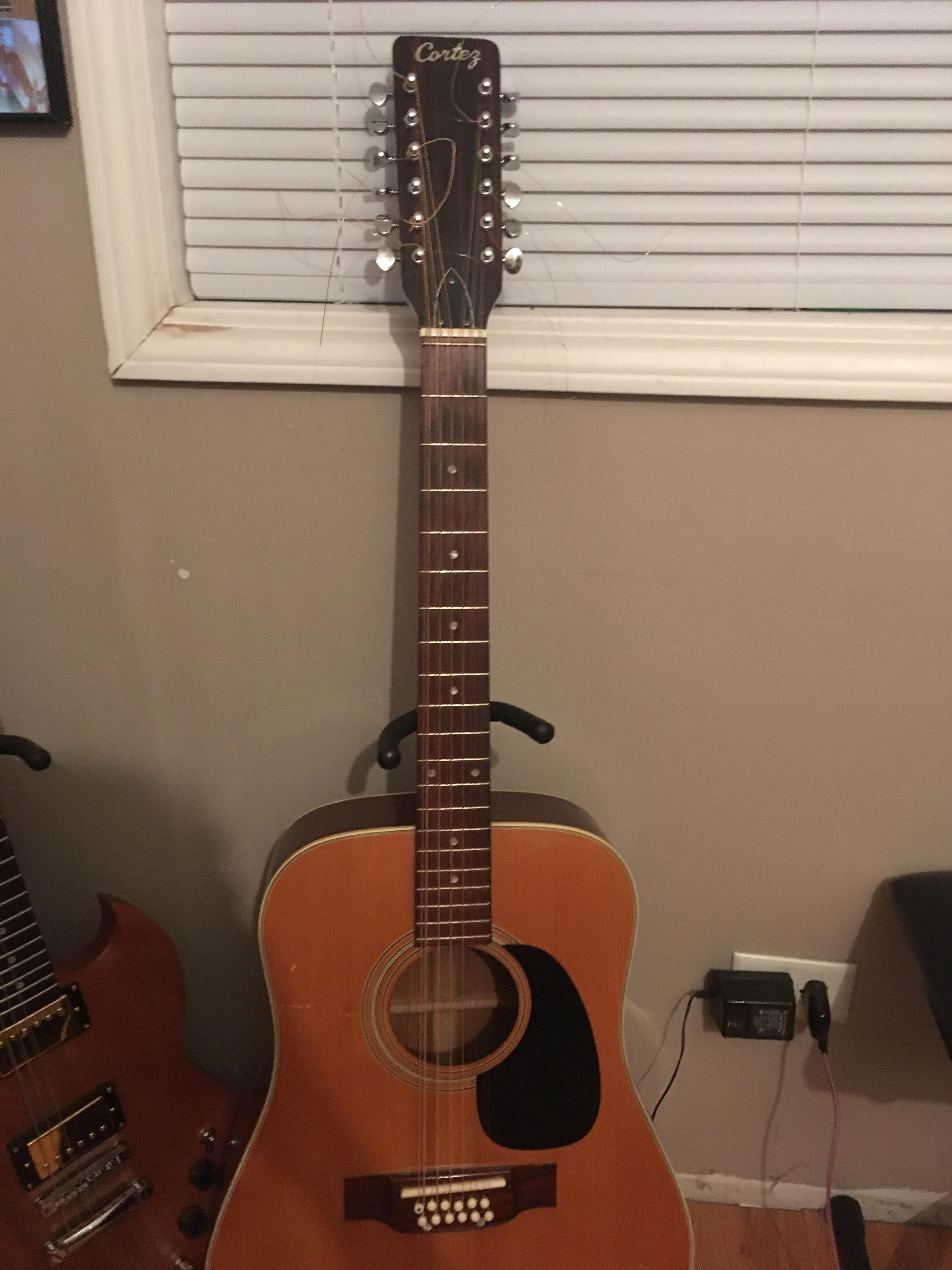 Just paid 20 bucks for this twelve string sounds great   Guitar