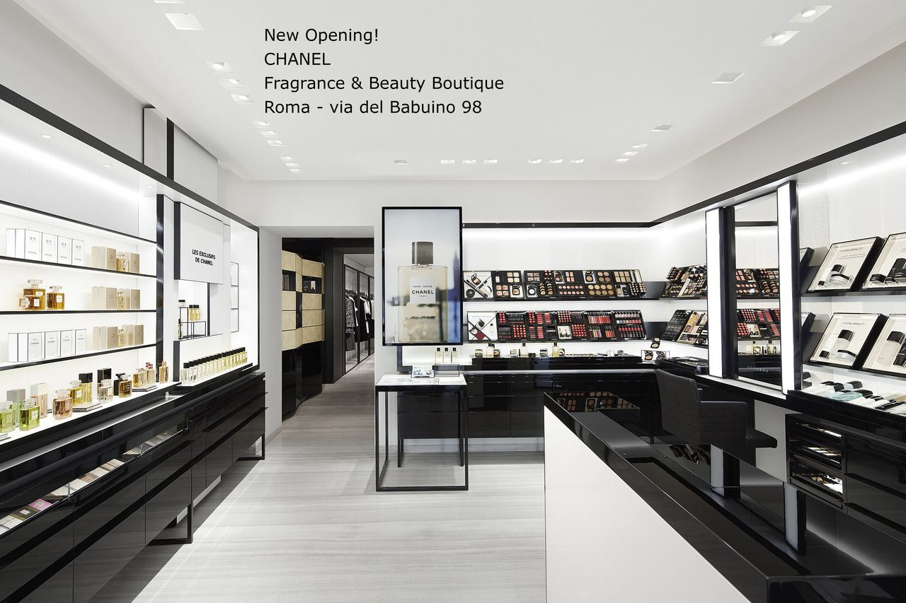 CHANEL RIAPRE LA SUA BOUTIQUE A ROMA IN VIA DEL BABUINO CHANEL ...