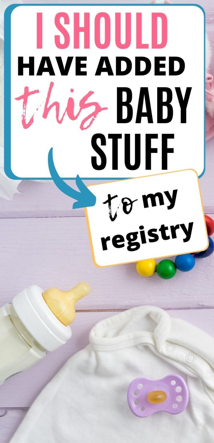 The Most Wanted Baby Registry Items Solutions Mommy in