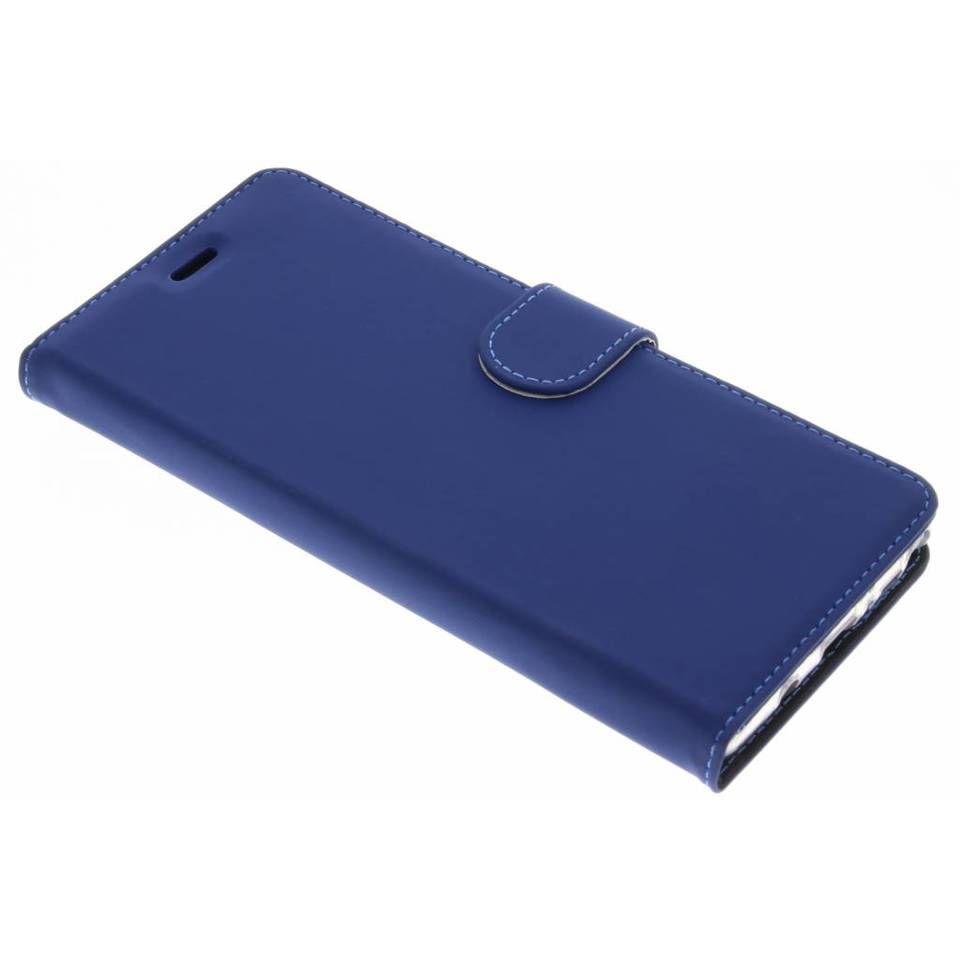 Blauwe Wallet TPU Booklet voor de Samsung Galaxy Note 8