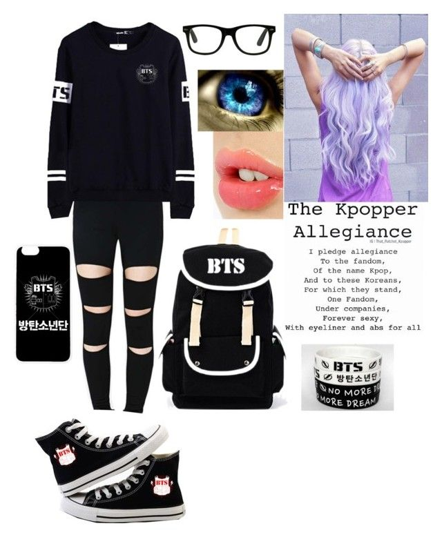 """Bangtan Boys"" by faygoman ❤ liked on Polyvore featuring Charlotte Tilbury"