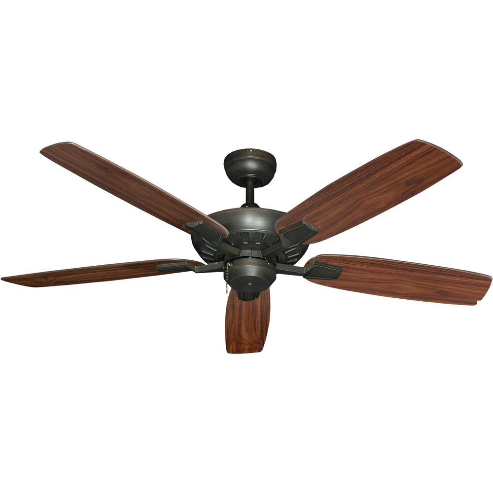 Troposair Saturn 52 In Oil Rubbed Bronze Ceiling Fan 88901 The Home Depot Bronze Ceiling Fan Ceiling Fan Oil Rubbed Bronze
