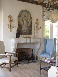 Home altar on a mantle--nice! | Catholic Home Altars | Pinterest ...